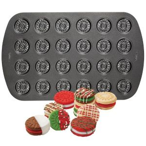 24-Cavity Sandwich Cookie Pan